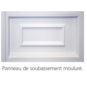 Une menuiserie p v c une solution for Moulure pvc fenetre