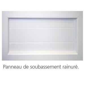 Menuiseries pvc for Soubassement fenetre