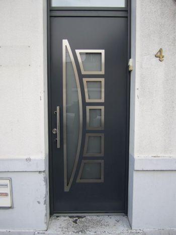 Portes d 39 entr e aluminium - Porte d entree 2 battants ...