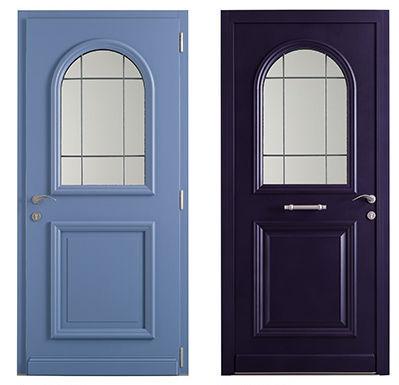 Nos gammes de portes d 39 entr e mixtes - Porte d entree minco ...